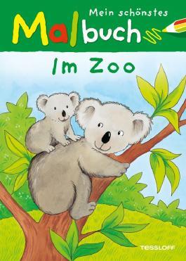 Mein schönstes Malbuch Im Zoo