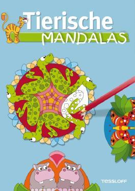Tierische Mandalas. Malbuch ab 6 Jahren