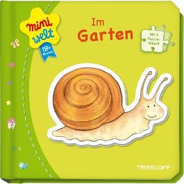 Kleines Puzzlebuch: Im Garten