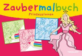 Zaubermalbuch Prinzessinnen