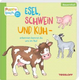 Esel, Schwein und Kuh