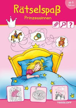 Rätselspaß Prinzessinnen ab 6 Jahren