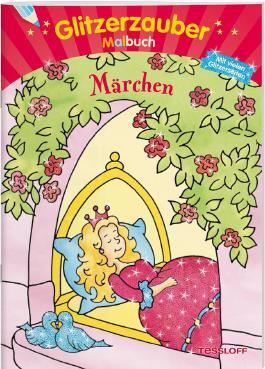Glitzerzauber Malbuch Märchen