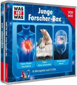 WAS IST WAS 3-CD-Hörspielbox Junge Forscher
