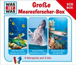 WAS IST WAS 3-CD-Hörspielbox Meeresforscher