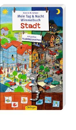 Mein Tag & Nacht Wimmelbuch Stadt