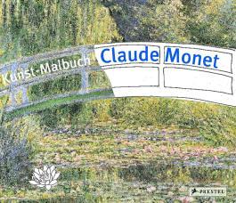 Kunst-Malbuch Claude Monet