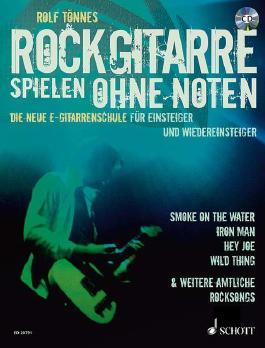 Rockgitarre spielen ohne Noten