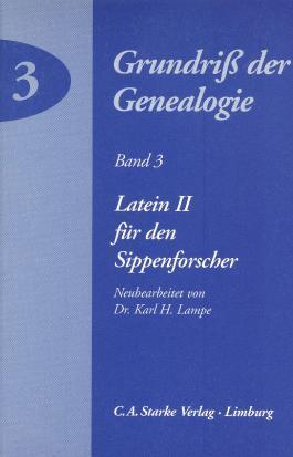 Latein II für den Sippenforscher