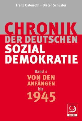 Chronik der deutschen Sozialdemokratie