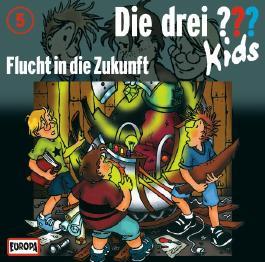 Die Drei ??? Kids (Folge 5) - Flucht in die Zukunft