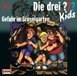 Die Drei ??? Kids (Folge 6) - Gefahr im Gruselgarten