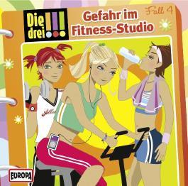 Die drei !!! - Gefahr im Fitness-Studio