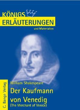 Shakespeare. Kaufmann von Venedig /The Merchant of Venice
