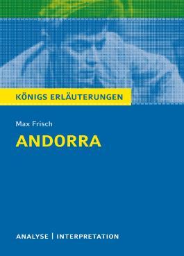Textanalyse und Interpretation zu Max Frisch. Andorra