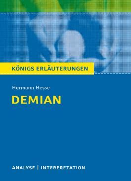 Textanalyse und Interpretation zu Hermann Hesse. Demian