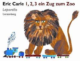 1, 2, 3 ein Zug zum Zoo - Leporello