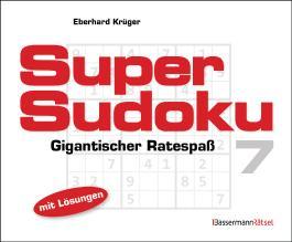Supersudoku 7 (5 Exemplare à 3,99 €)
