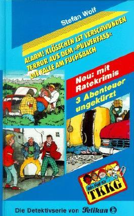 Ein Fall für TKKG, Dreifachbände, Bd.2, Alarm! Klößchen ist verschwunden!