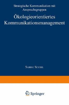 Ökologieorientiertes Kommunikationsmanagement