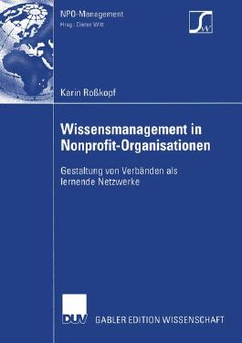 Wissensmanagement in Nonprofit-Organisationen