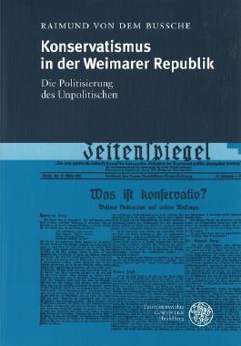 Konservatismus in der Weimarer Republik