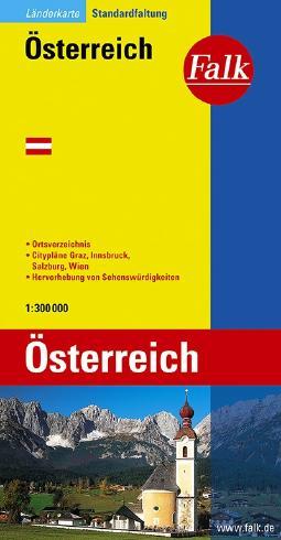 Falk Länderkarte Österreich 1:300 000