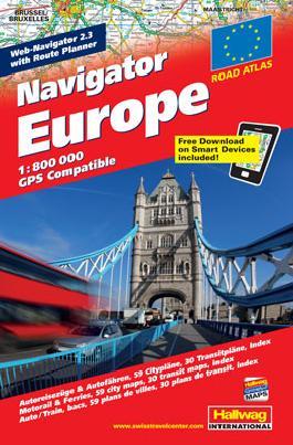 Navigator Europa Strassenatlas