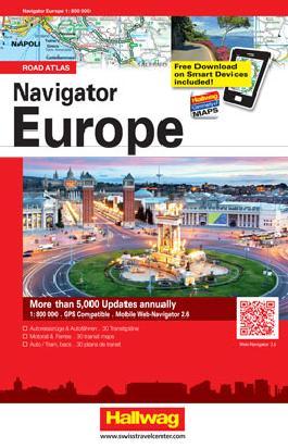 Navigator Europe Strassenatlas 1:800 000