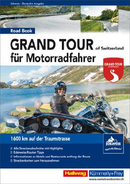 Grand Tour of Switzerland Roadbook für Motorradfahrer