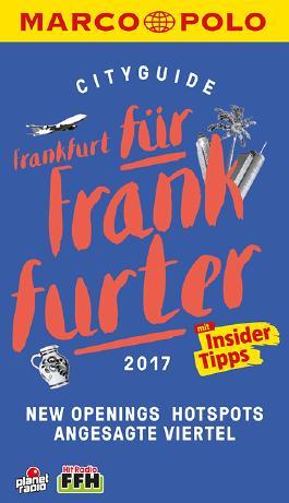 MARCO POLO Cityguide Frankfurt für Frankfurter 2017