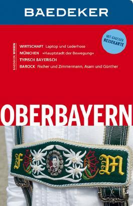 Baedeker Reiseführer Oberbayern