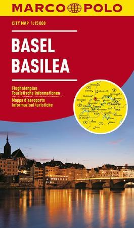 MARCO POLO Cityplan Basel 1:15 000
