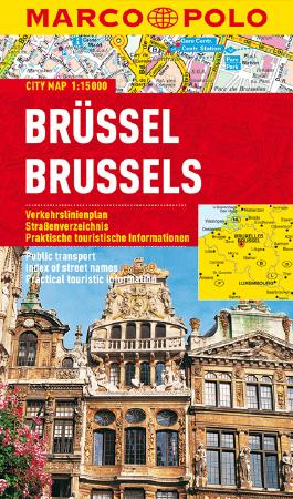 MARCO POLO Cityplan Brüssel 1:15 000