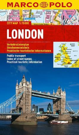 MARCO POLO Cityplan London 1:15 000