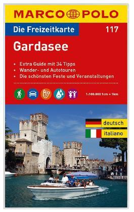 MARCO POLO Freizeitkarte Blatt 117 Gardasee 1:100 000