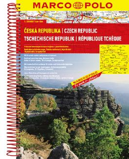 MARCO POLO Reiseatlas Tschechische Republik 1:200 000
