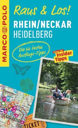 MARCO POLO Raus & Los! Rhein/Neckar, Heidelberg