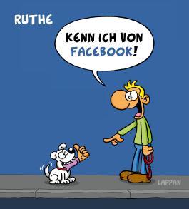 Kenn ich von Facebook