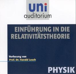 Einführung in die Relativitätstheorie, Audio-CD