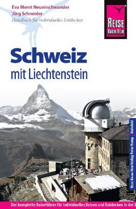 Reise Know-How Schweiz mit Liechtenstein
