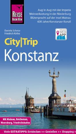 Reise Know-How CityTrip Konstanz mit Mainau, Reichenau, Meersburg, Friedrichshafen