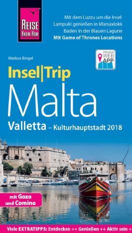Reise Know-How InselTrip Malta mit Valletta (Kulturhauptstadt 2018)