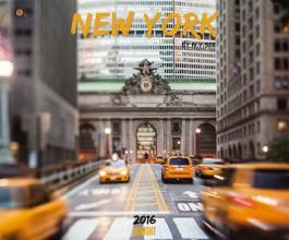 New York, Fotokunst-Kalender 2016