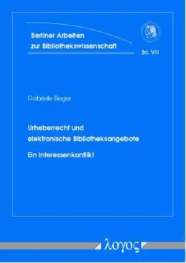 Urheberrecht und elektronische Bibliotheksangebote