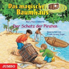 Das magische Baumhaus, Band 4 - Der Schatz der Piraten