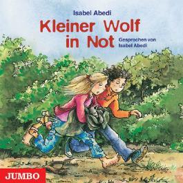 Kleiner Wolf in Not