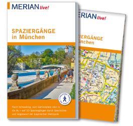 MERIAN live! Reiseführer Spaziergänge in München