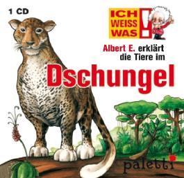 Ich weiss was: Albert E. erklärt die Tiere im Dschungel