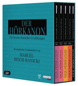 Der Hörkanon - Herausgegeben und kommentiert von Marcel Reich-Ranicki